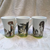 Tasse Porzellan DOGS