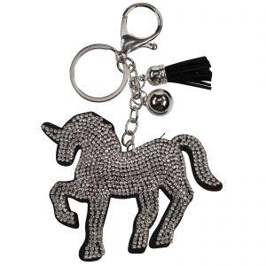 Schlüsselanhänger Strass-Pferd