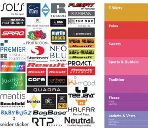 Katalog für Vereinsbekleidung